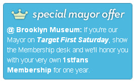Brooklyn Museum's special offer on Foursquare