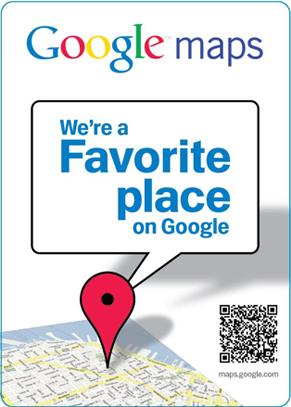 Google Places QR Code