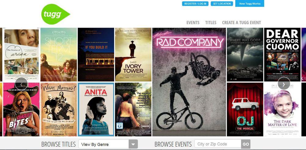Tugg's Film Library   (http://www.tugg.com/)