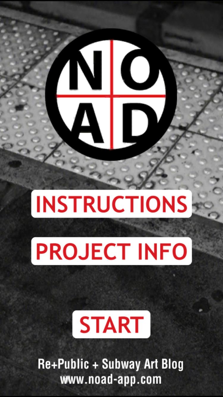 The main menu of NO AD