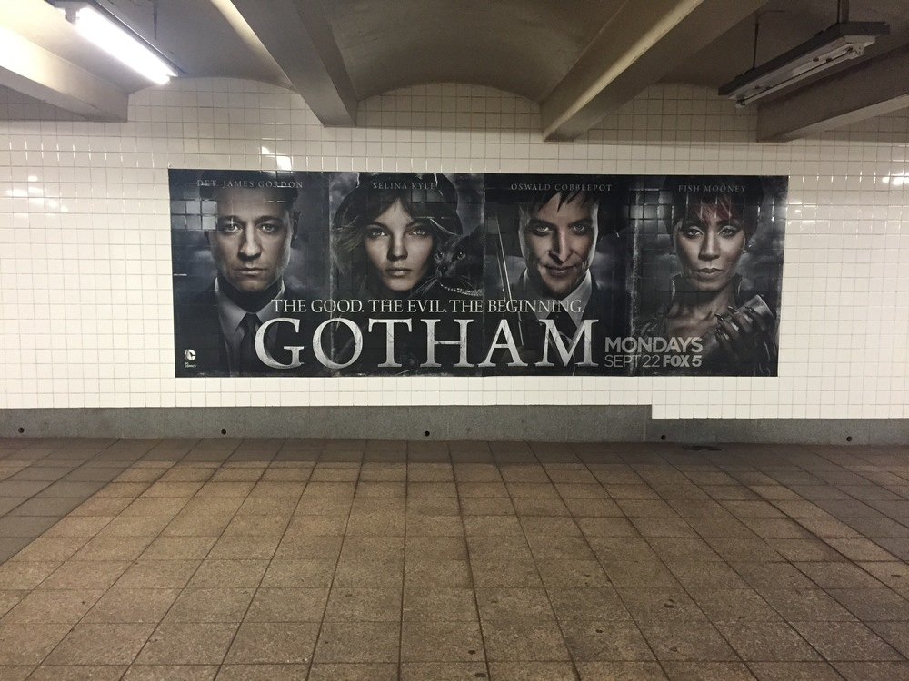 Advertisement for Gotham pre-NO AD