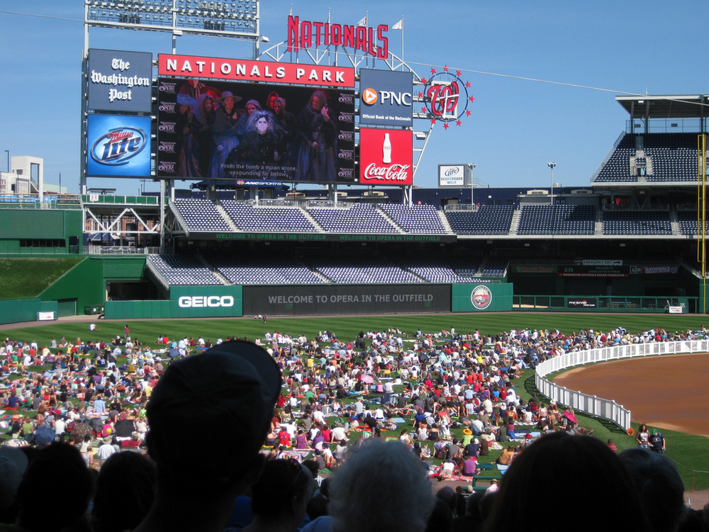 Opera in the Outfield Image Source:  F lickr user  William Boncher