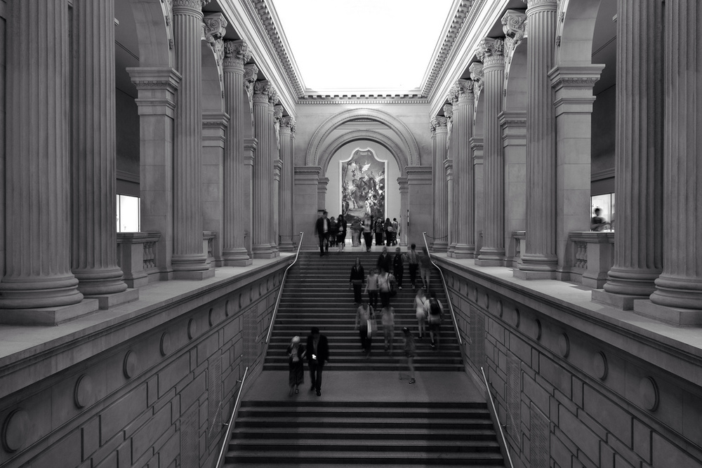 """Grand Staircase, Metropolitan Museum of Art"" by Ralph Hockens, www.flickr.com"