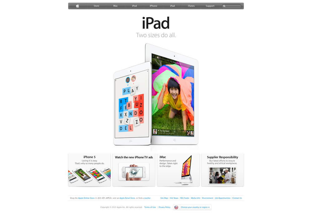The Jetpac iPad app was featured on  Apple.com  homepage, on nationwide App Store billboards and in the March 2013 newsletter.