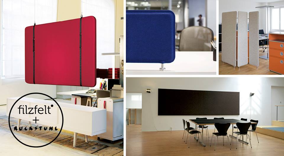 FitzFelt and Ruckstuhl have designed beautiful acoustical panels.