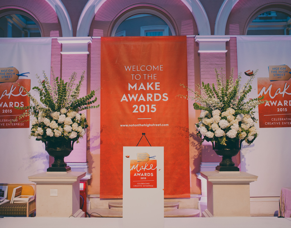 Make Awards 2015 - notonthehighstreet.com