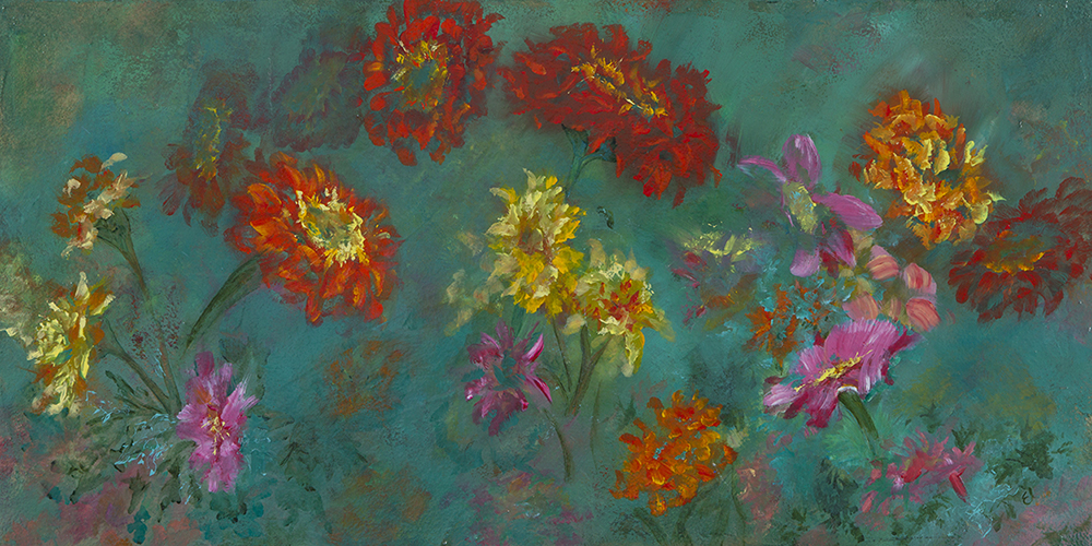 Lush Life, 24 x 48 inches
