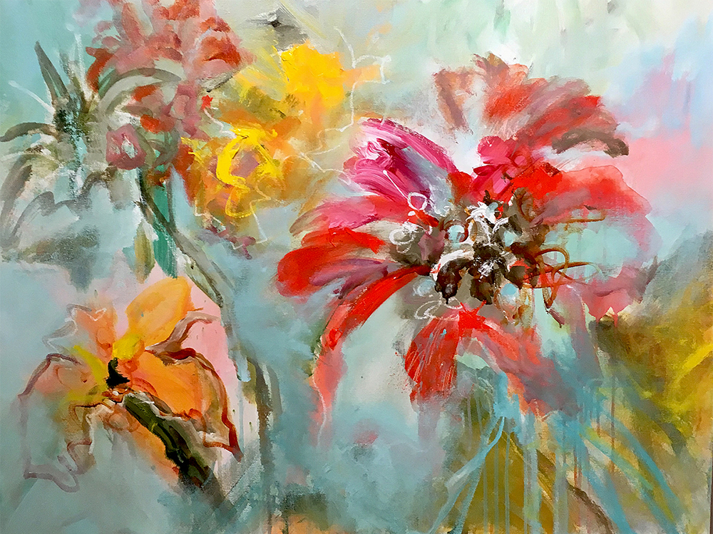 Sweet Sensation, 30 x 40 inches SOLD
