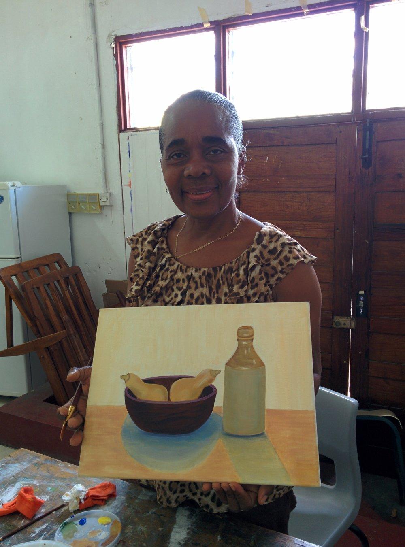 Ms Belmar at Art Class.jpg
