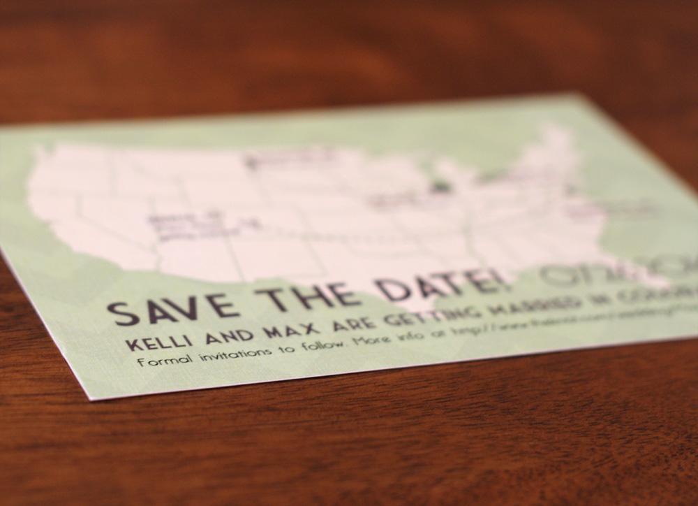 Kelli & Max Save The Date Design