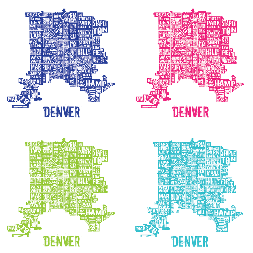 six leaf graphic design denver neighborhoods