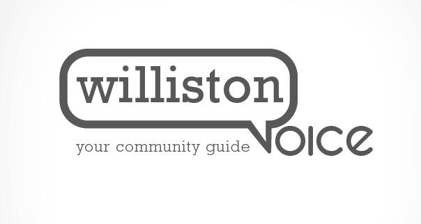 Round 1 - logo design  concept for Williston Voice