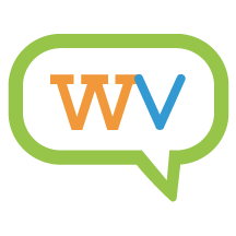 Submark or icon logo design for Williston Voice