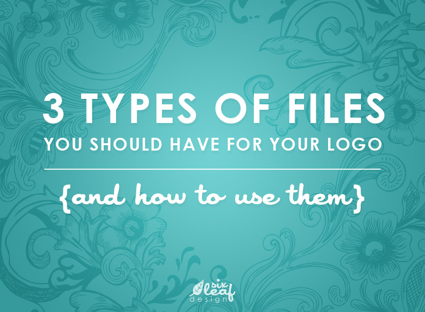 3 types of files you should have for your logo and how to use them