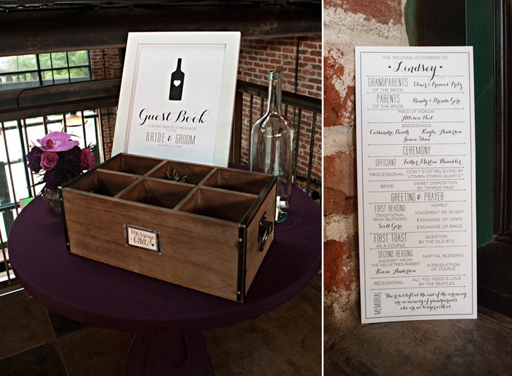 Guestbook sign and program