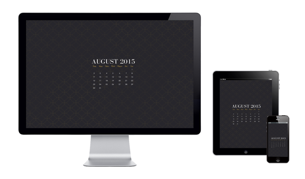 Six Leaf Graphic Design | Free Wallpaper August 2015