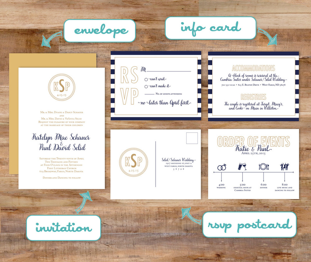 six leaf graphic design 4 must have pieces for your wedding invitations