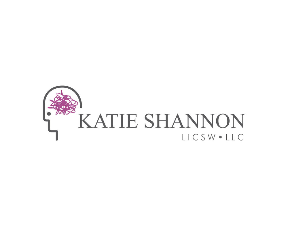 Unique Logo Design for Mental Health Professional with Face and Brain Icon | Freelance Graphic Designer | Denver, Colorado | Six Leaf Design