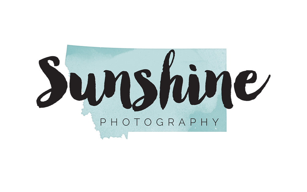 Sunshine Photography Logo Redesign | Six Leaf Design | Freelance Graphic Designer | Denver, Colorado