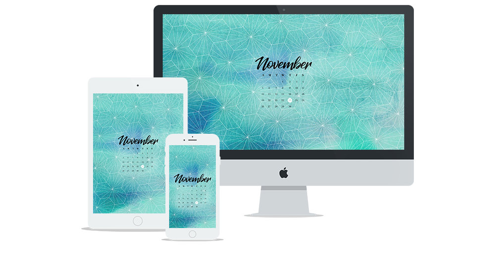 Free Wallpaper Design for November 2017
