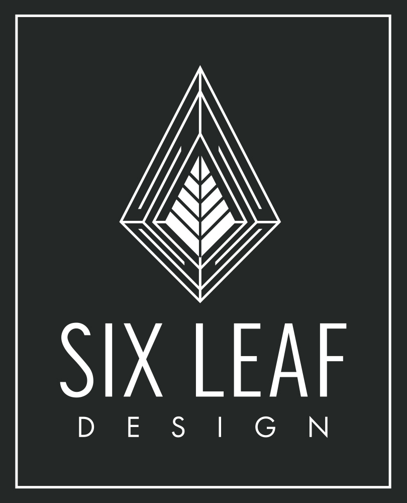 Six Leaf Design | Freelance Graphic + Logo + Brand + Web Designer | Denver, Colorado