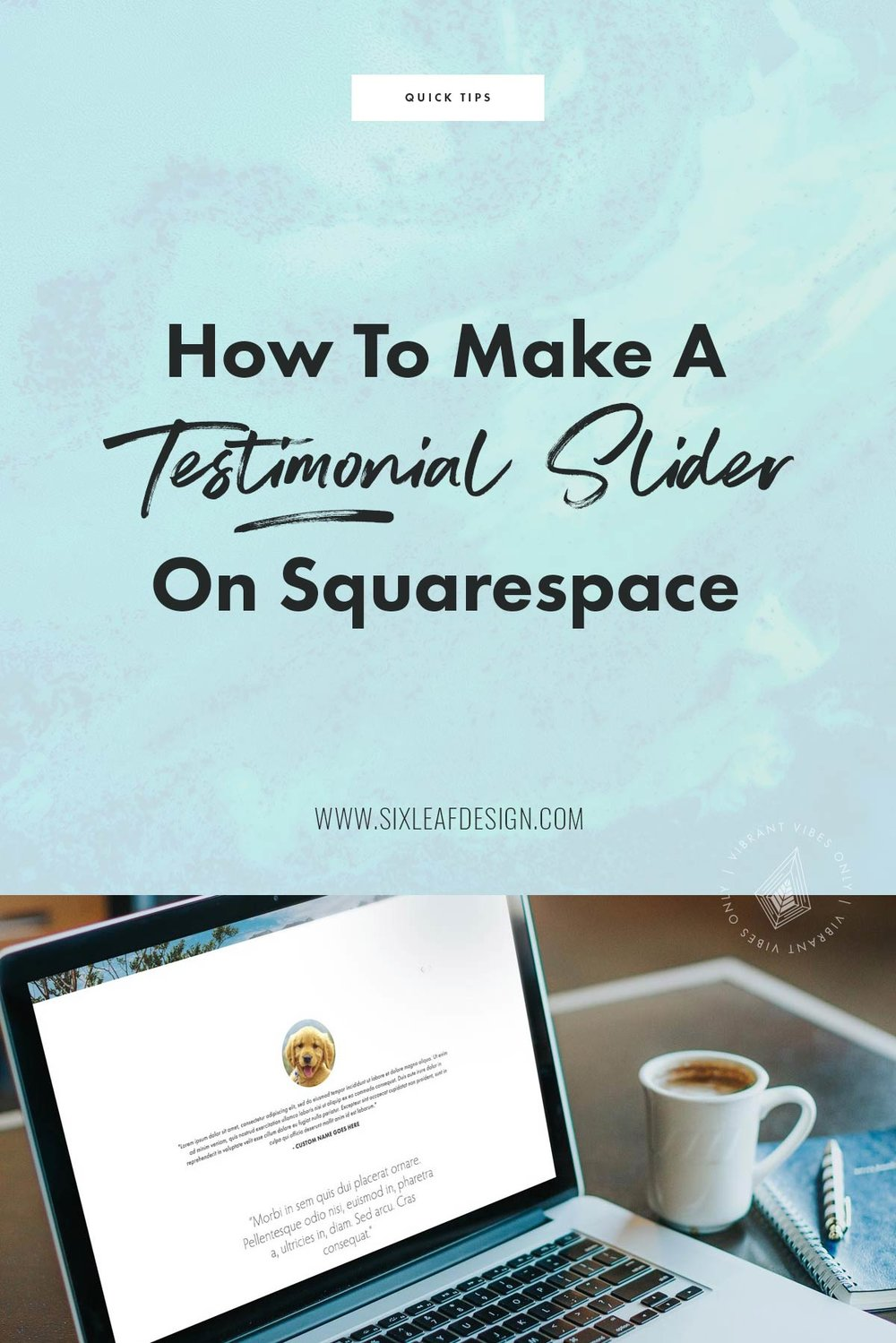 How To Make A Testimonial Slider on Squarespace