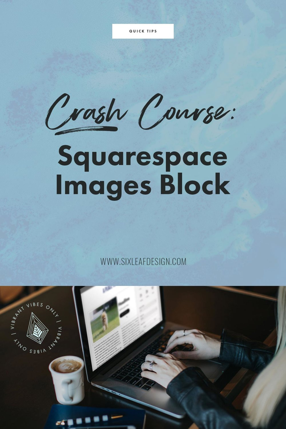 How To Use The Images Block on Squarespace