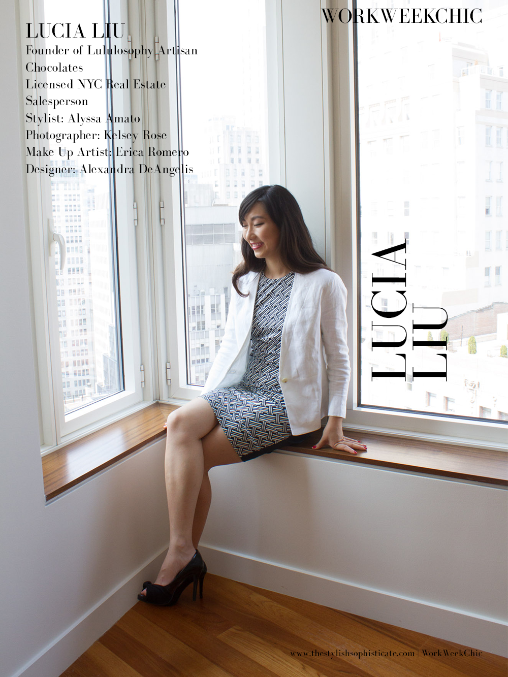 Feature on Work Week Chic