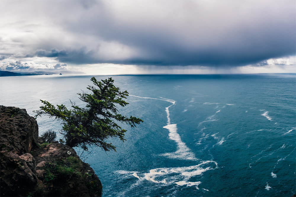 Storm off of Cape Lookout, Oregon