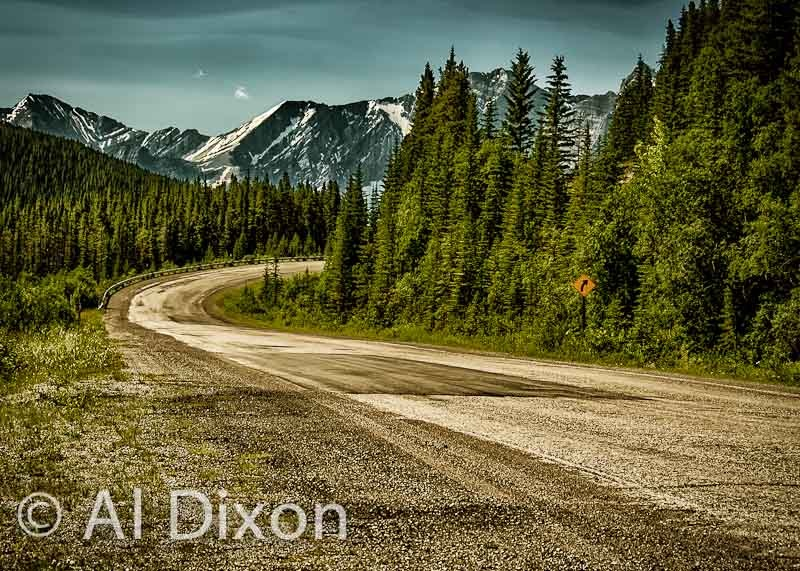 Spray Lakes Road