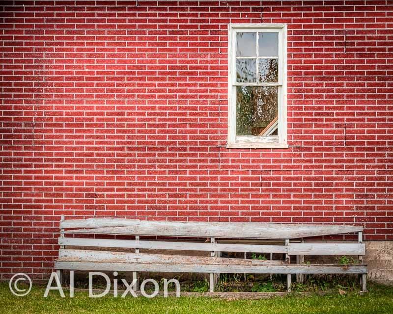 School Ground Bench
