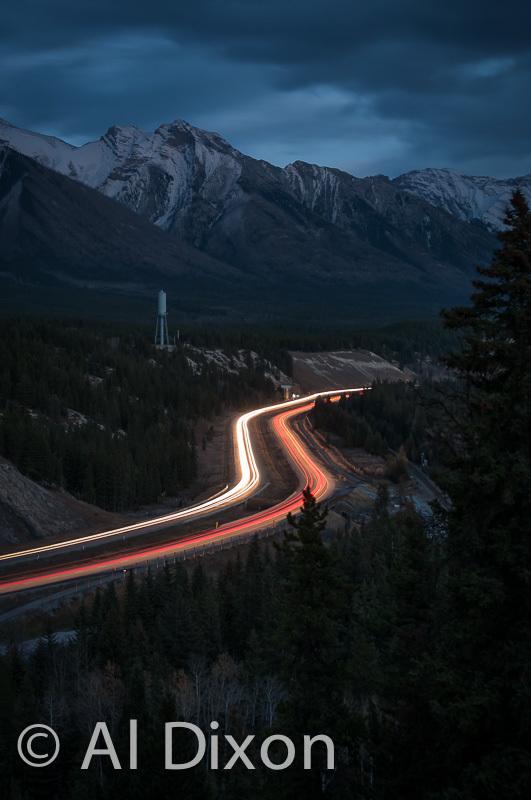 Trans Canada at Night