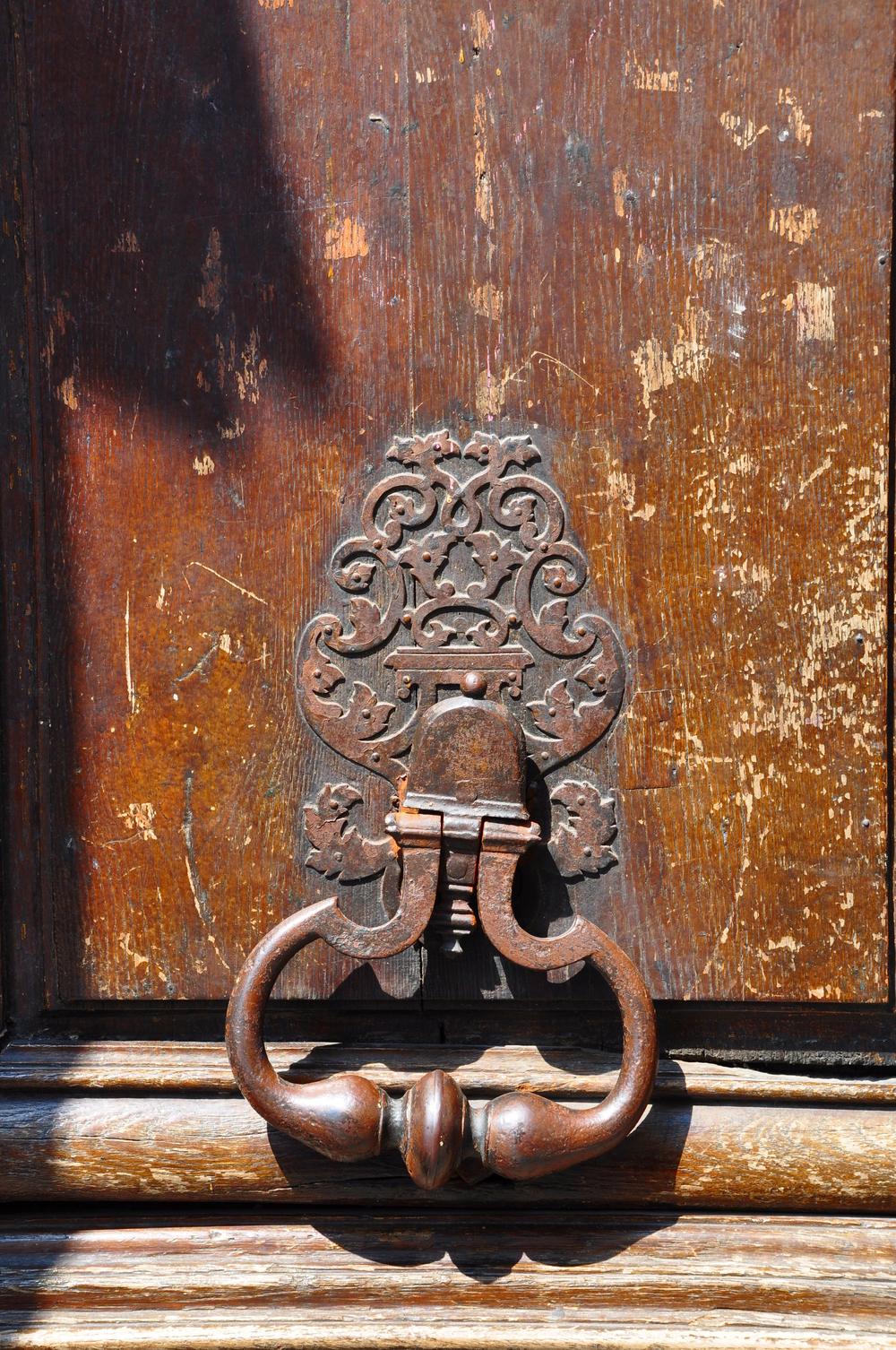 Latin Quarter Door