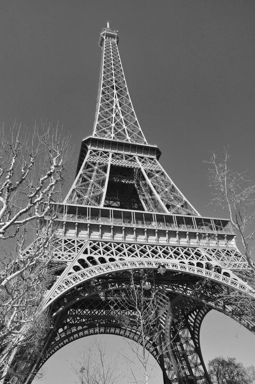 La Tour Eiffel en Mars