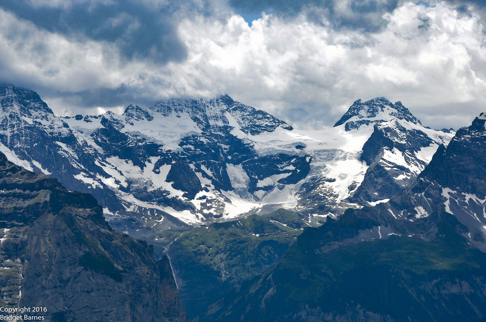 Bernese Alps as seen from Mannlichen
