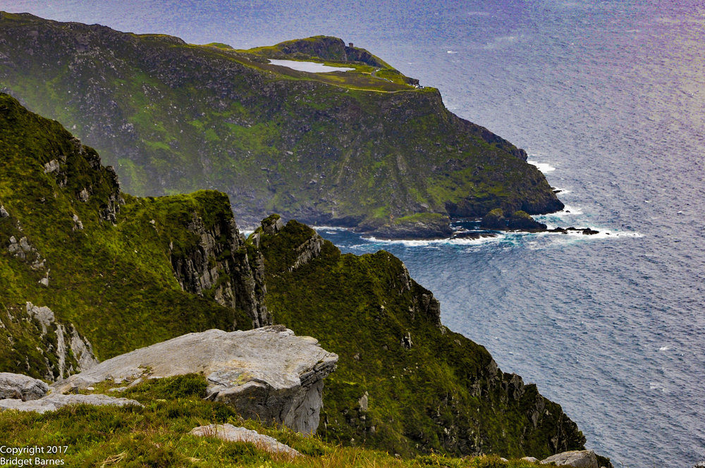 A view from the top of Slieve League