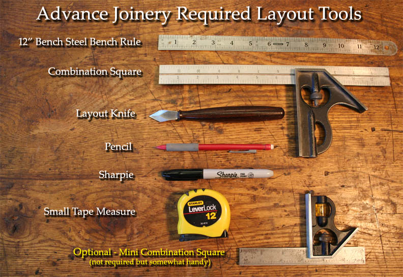 Required Tools — JD Lohr School of Woodworking