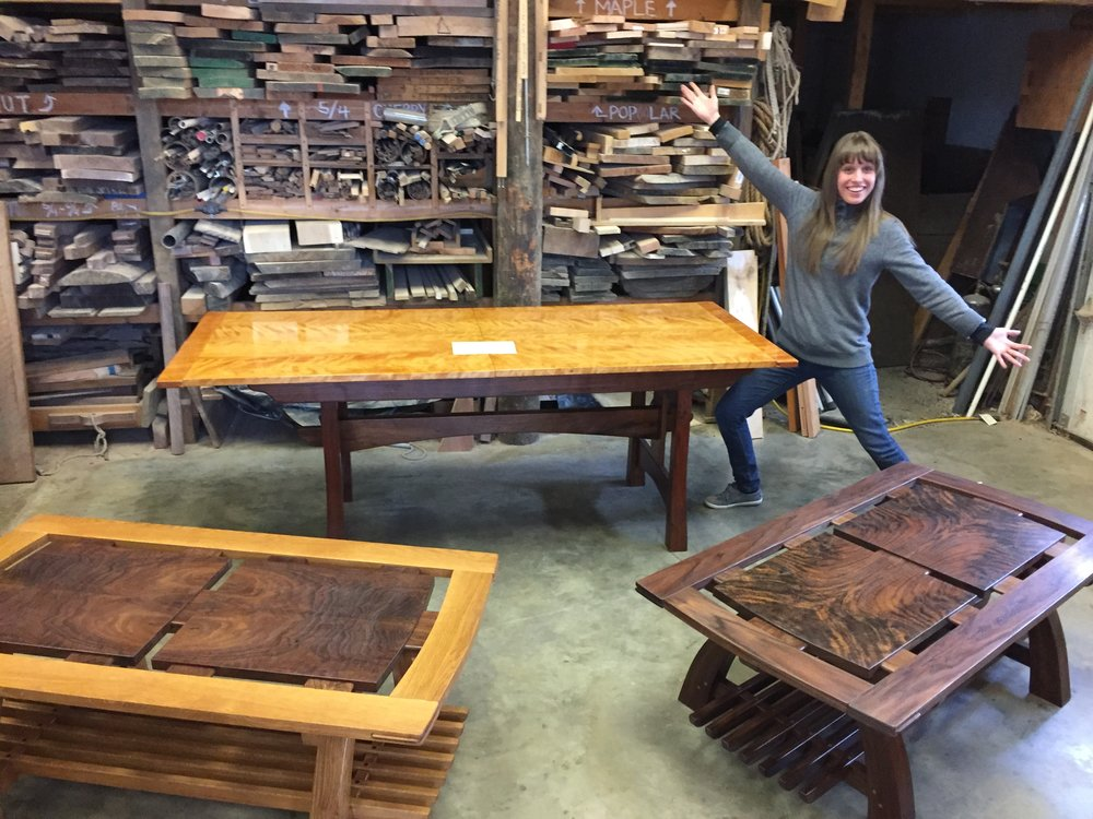 Please come out and say hi at the Philadelphia Furniture Show. We'll be there March 31-April 2. Furniture is starting to gather in the shop to gear up for ...