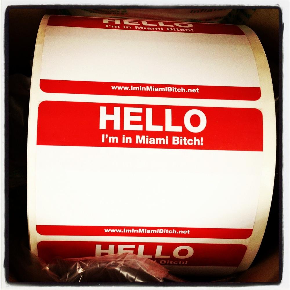 IIMB! name tags