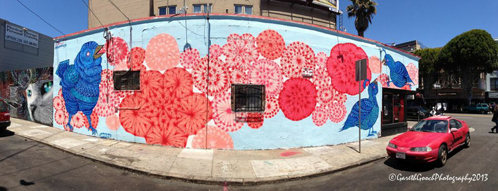 Molly's collaboration with Anson Cyr in San Francisco.