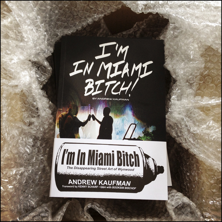 I'M IN MIAMI BITCH! The book.