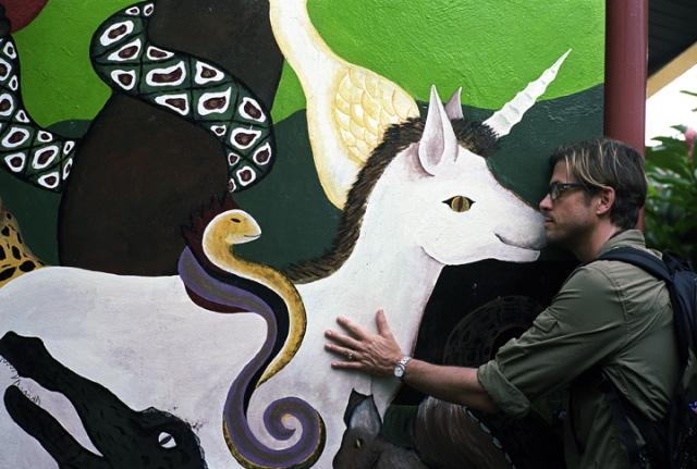 @Smogranch making love to a unicorn. Circa 2010.
