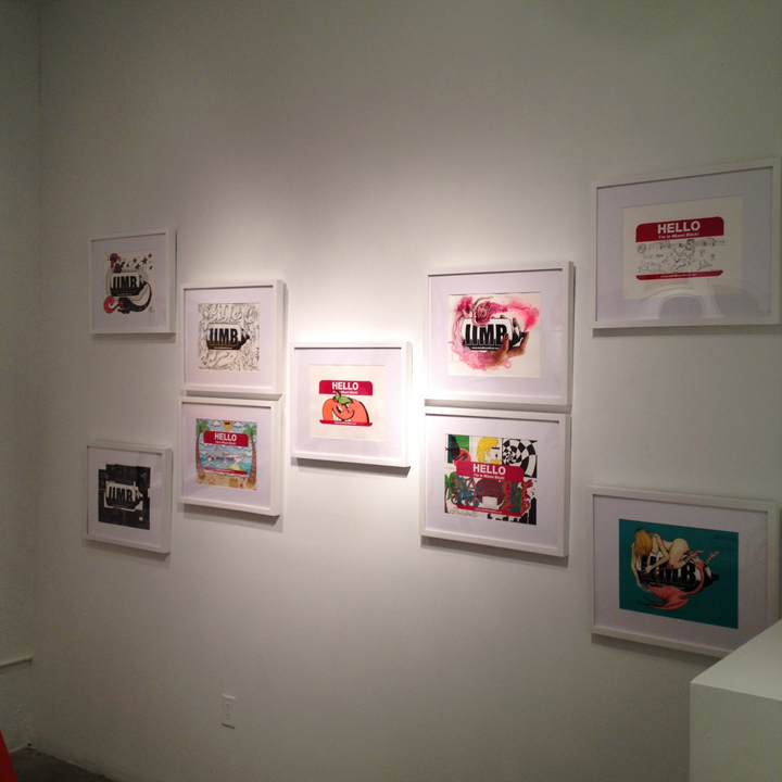 Works by Luis Valle, Yamel Molerio, Steven Reyes, Luis Berros, ATOMIK, Diana Contreras, NAPS, Noah Levy and Ivan Roque.