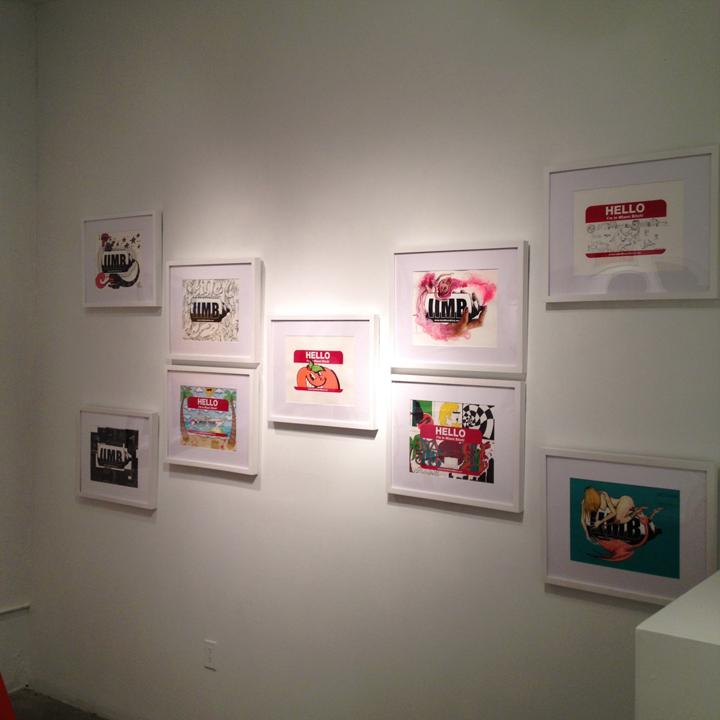 Works by Luis Valle, Yamel Molerio, Steven Reyes, Luis Berros, ATOMIK, Diana Contreras, NAPS, Noah Levy and Ivan Roque.