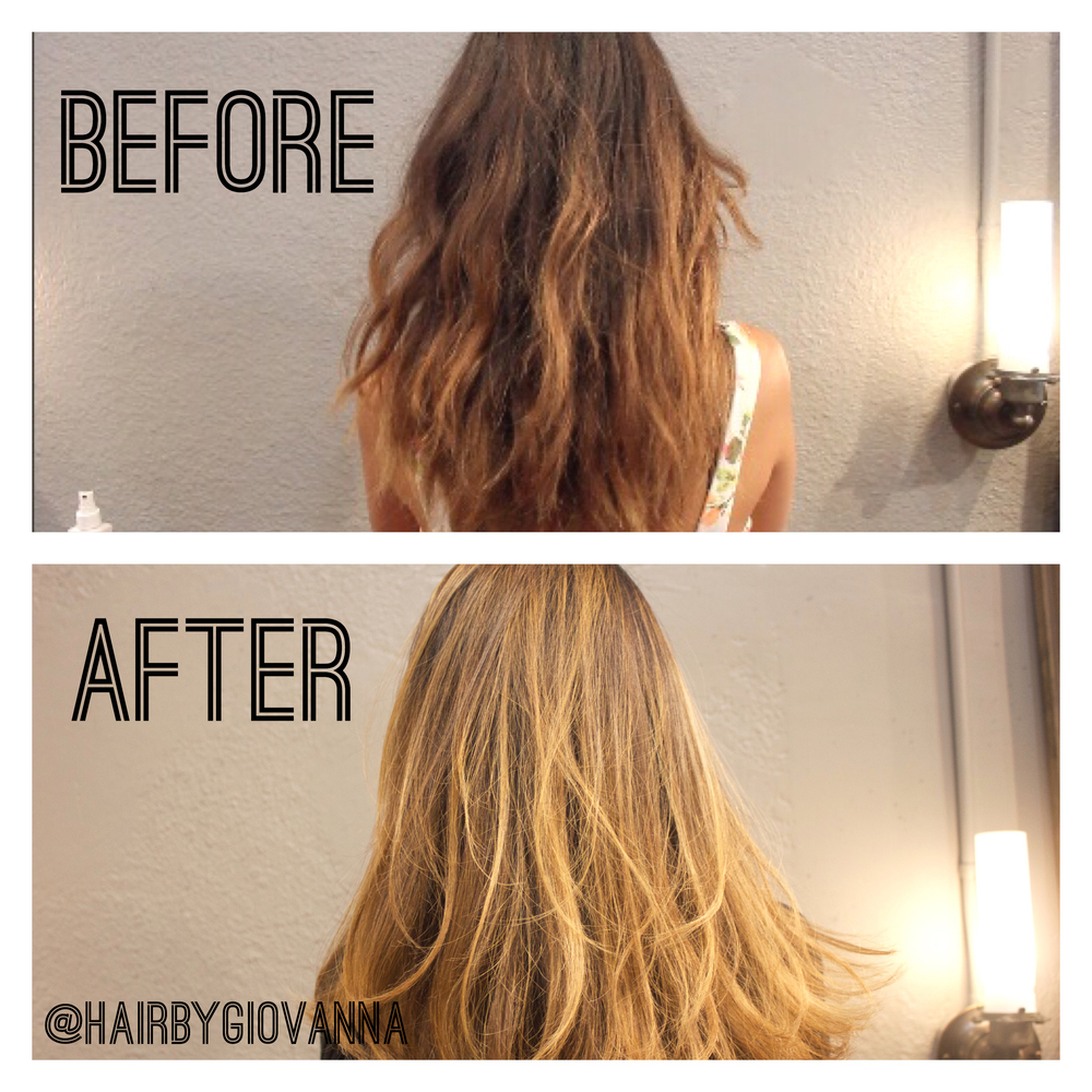 Story Time How To Fix A Bad Ombre Balayage Process W