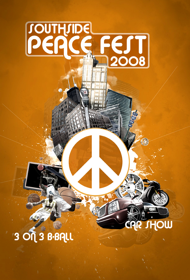 Peacefest Poster design