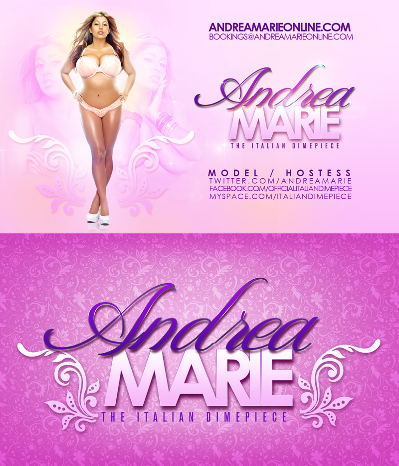 Andrea Marie Business Cards