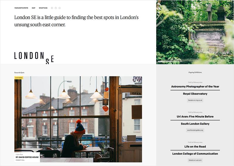 London SE Homepage