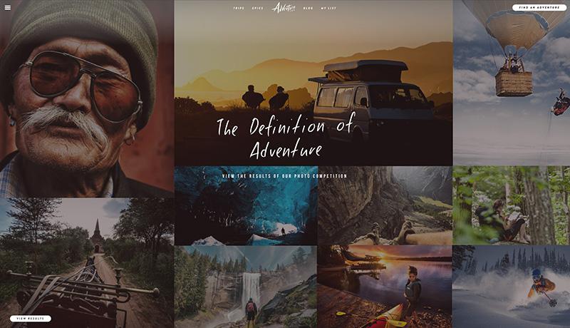 Adventure.com   Homepage