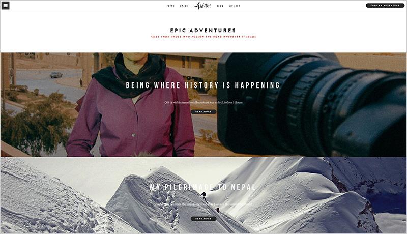 Adventure.com   Epics